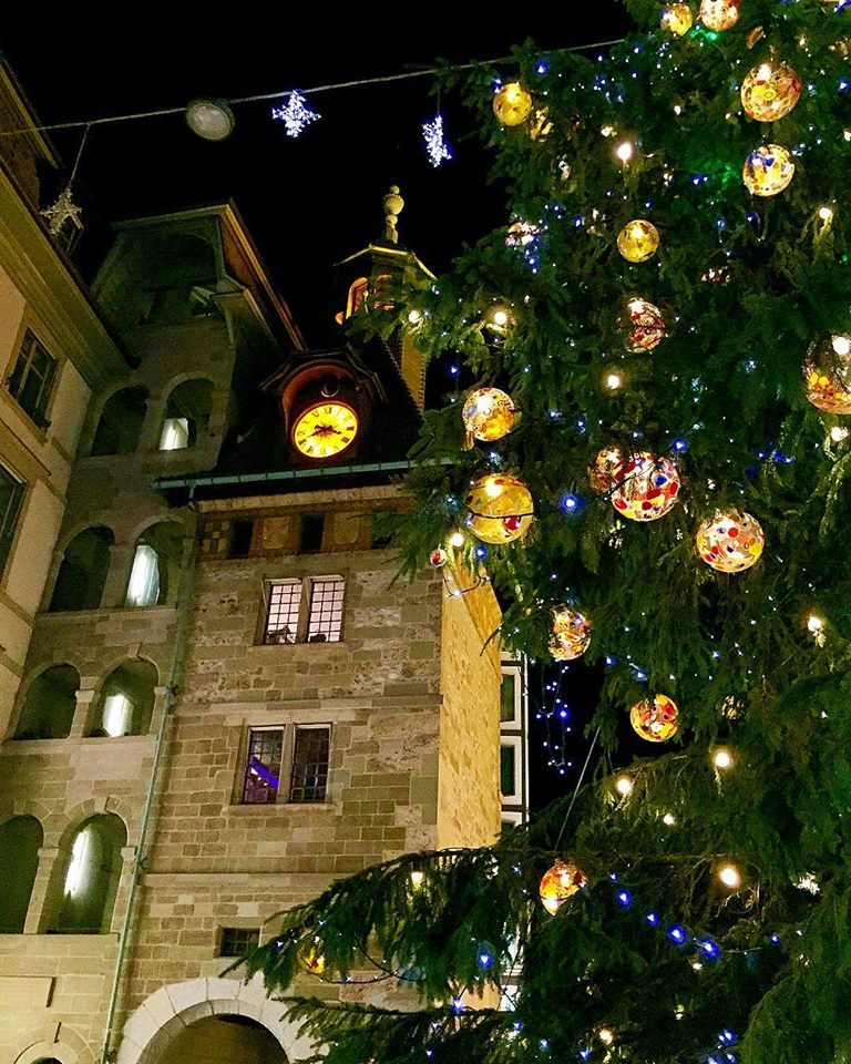 Natal em Genebra, na Suíça