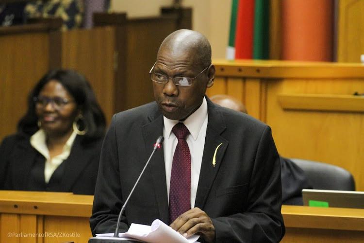 Health minister Zwelini Mkhize.