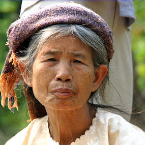 Old Vietnamese lady by Benny Berget - People Portraits of Women (  )