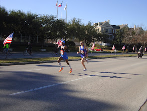 Photo: Last lap...heading downtown...Go Meb!