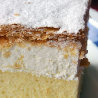 Kremna Rezina (Vanilla custard Cream Cake)