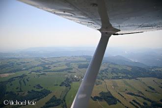 Photo: Vi suser over åsene nord i Tsjekkia