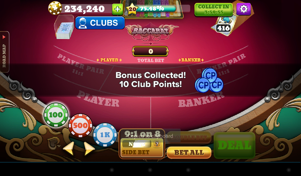 BACCARAT!- screenshot