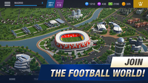 11x11: Soccer Club Manager 1.0.7478 screenshots 2