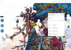 Adobe Photoshop Sketch - screenshot thumbnail 09