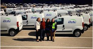 Algunos miembros del equipo de Itete.