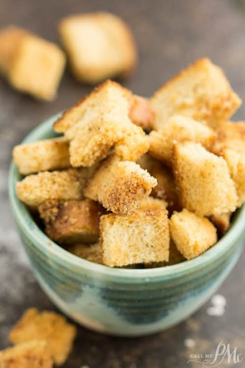 """Homemade Croutons """"I'm going to show you How to Make Homemade Croutons!..."""