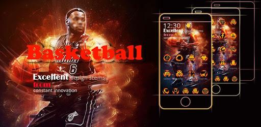 Basketball NBA theme keyboard for PC