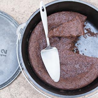 Dutch Oven Chocolate Cake