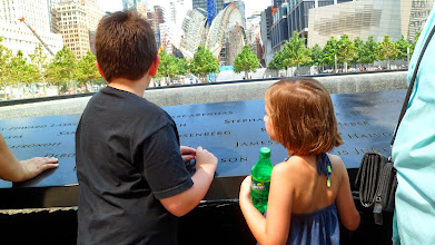 Photo: Ethan and Gen at the 9/11 Memorial.  I cherish this picture more than they'll ever understand.