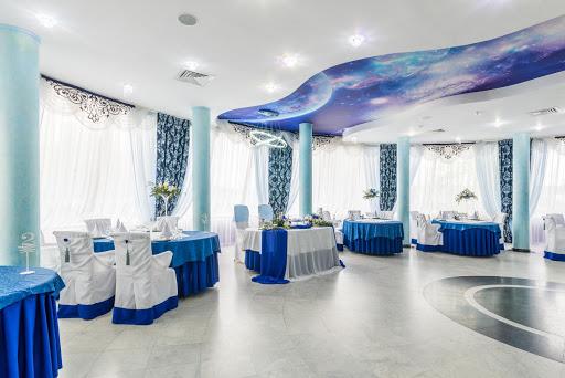Зал «Синий» в ресторане Любить по-русски для свадьбы 2