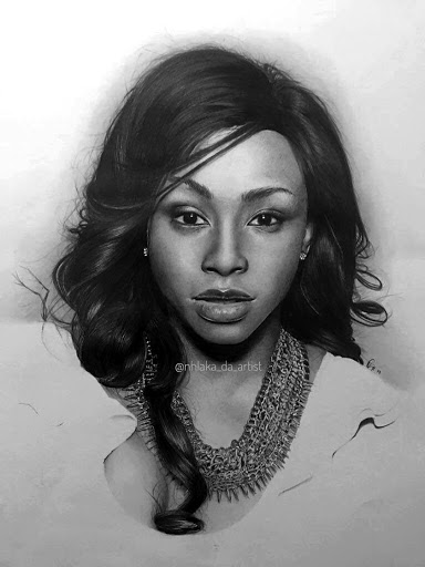 The portrait of Boity Thulo.