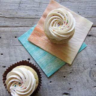 Vegan Vanilla Cupcakes for Two.