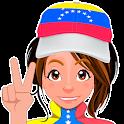 Chica Venezolana - Stickers para Whatsapp icon