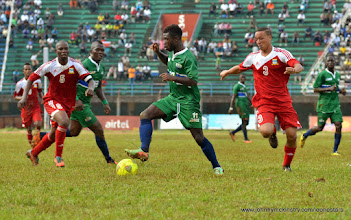 Photo: Abdual Baggie  [Leone Stars v Seychelles, Freetown, 19 July 2014 (Pic: Darren McKinstry)]