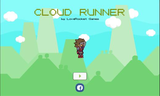 Cloud Runner - náhled