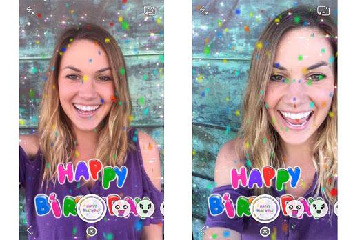 Snapchat2016用のガイドレンズ