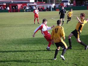 Photo: 30/10/10 v Bashley (Southern League Prem Div) 0-2 - contributed by Gyles Basey-Fisher