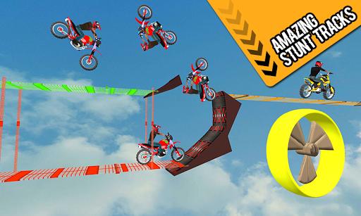 Racing Bike 3D Trial Bike Stunts Ramp Bike Jumping 1.1 screenshots 11
