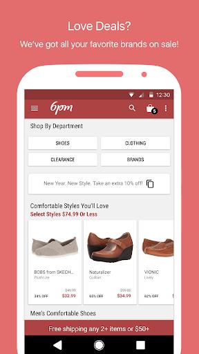 6PM - Shoes, Clothes & More Screenshot