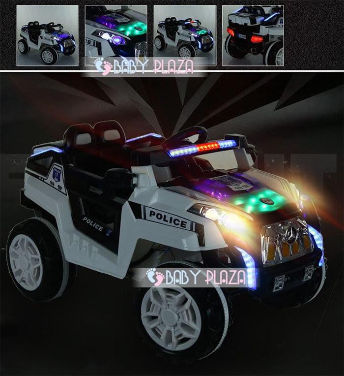 Xe oto điện cảnh sát Jeep YK-0188 1