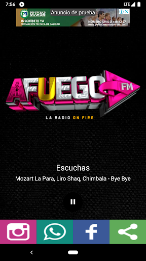 afuego fm screenshot 2