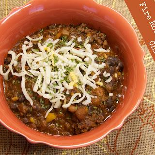 Fire Roasted Black Bean Chili