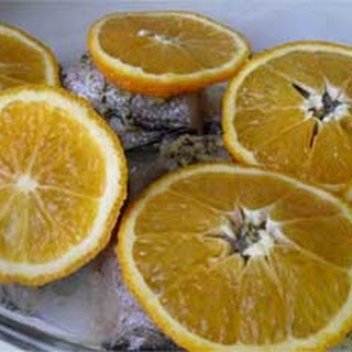 Oriental Baked Hake with Orange