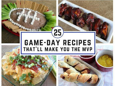 25 Game-Day Recipes That'll Make You the MVP