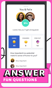 OkCupid MOD APK 42.3.3 [Unlimited Swipe Likes] Online Dating App 7