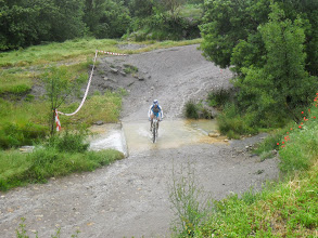 Photo: Paso por el rio Cajigar. (Castigaleu)