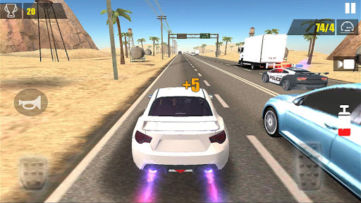 Racing Car Traffic for Android apk 2