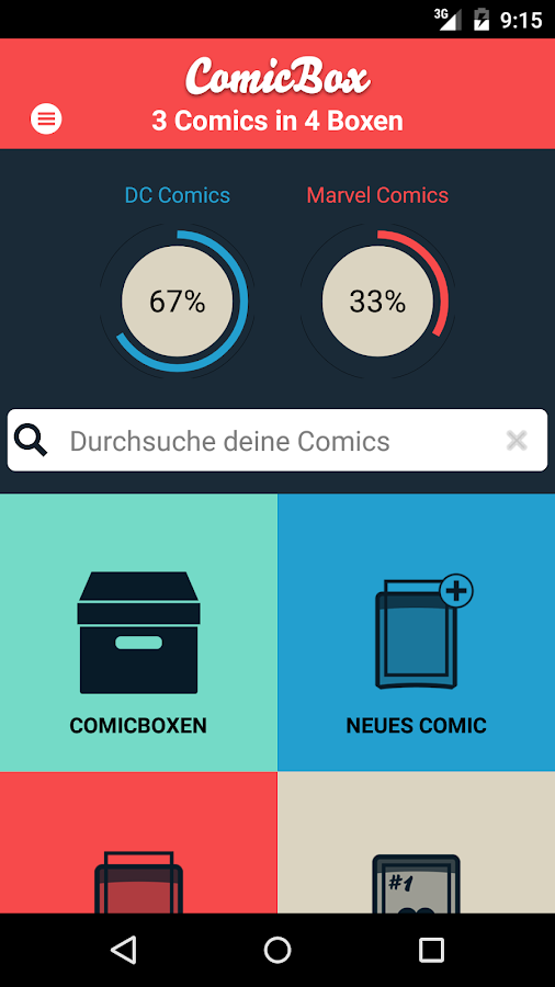 Comic Inventory: Comicbox- screenshot