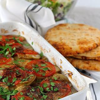 Middle Eastern Steak and Potato Casserole.