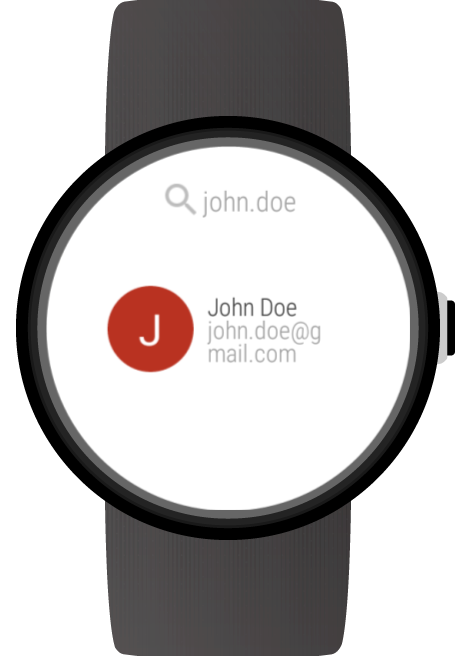 Mail for Wear OS (Android Wear) & Gmail screenshots