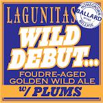 Lagunitas Wild Debut W/ Plums