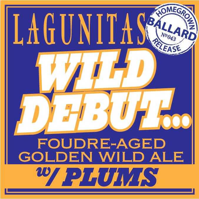 Logo of Lagunitas Wild Debut W/ Plums