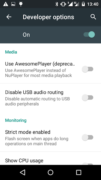 AwesomePlayer Android 5.1