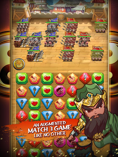 Match 3 Kingdoms: Epic Puzzle War Strategy Game android2mod screenshots 8