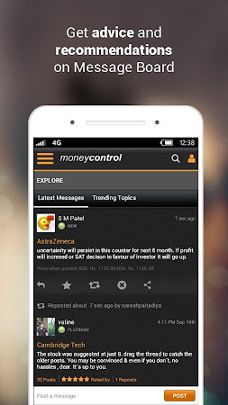 Moneycontrol Markets on Mobile 3.1 screenshot 237155