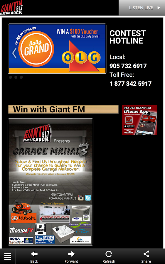 91.7 GIANT FM- screenshot