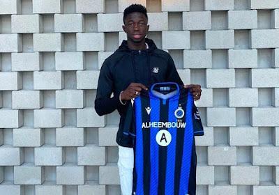 Club Brugge haalde de jonge Senegalees Formose Mendy