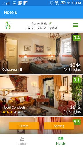 Flightzy - cheap flights & hotels search 4.1.1 screenshots 7