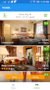 Flightzy - cheap flights & hotels search- screenshot thumbnail