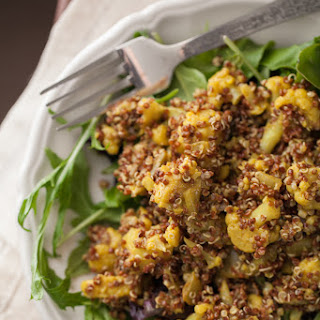 Curried Cauliflower and Quinoa Salad.