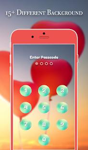 App Lock Theme - Love Balloon - náhled