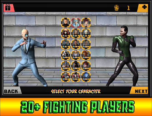 Mortal Deadly Street Fighting Game  screenshots 2