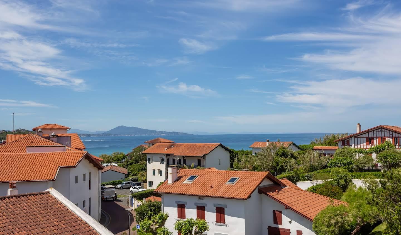 Maison en bord de mer avec jardin Bidart