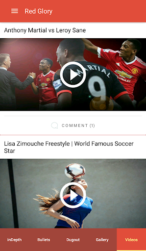 Red Glory - Manchester United Fan App by The Fans Apk apps 1