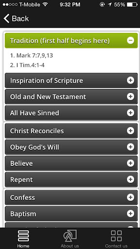 The Safety Chain of Scriptures